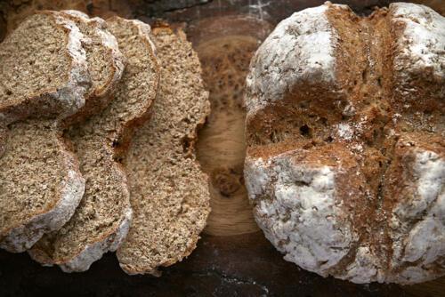 Homemade soda bread